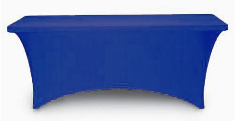 Non Printed 8 Spandex Stretch Table Cloths