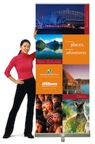Accenta Roll up banner stand