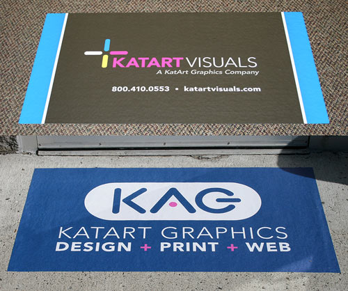 Removable Floor Graphics