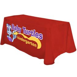 Digitally Printed Throw Tablecloth