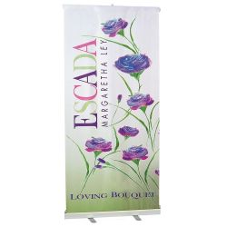 Roll up Fabric Banner Stand