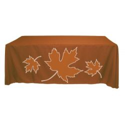 6 ft 2-color Screen Printed Table Throw