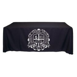 8 ft Screen Printed Table Throw