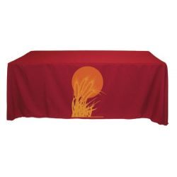 8 ft 2-color Screen Printed Table Throw