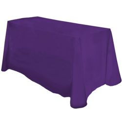 Non printed Counter Height tablecloth
