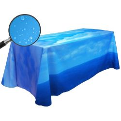Fully Dye Sublimated 6' Water Resistant Throw