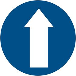 Large Directional Arrow