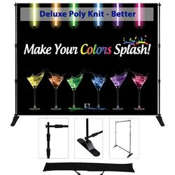 120x96 adjustable display - Deluxe