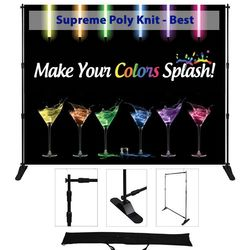 72x96 adjustable display - Supreme