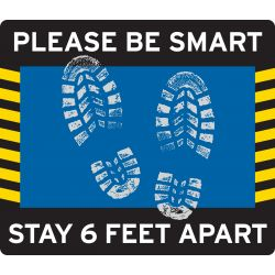 Be Smart Decal