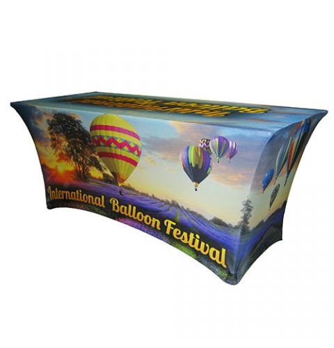 Printed 8 Spandex Stretch Table Covers