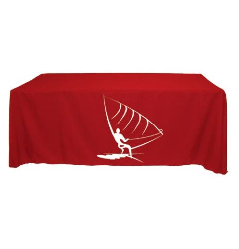 6 ft Screen Printed Table Throw