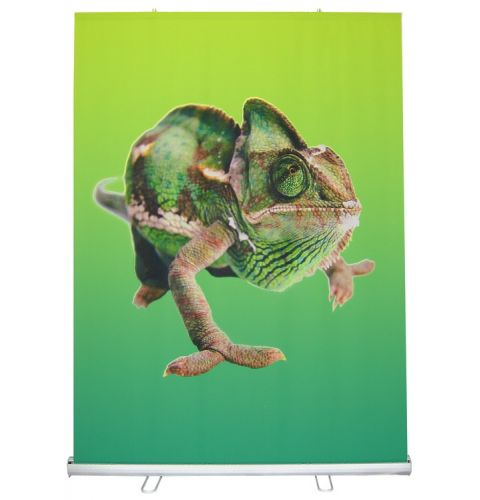 48x79 Roll up Fabric Banner Stand