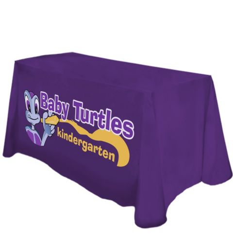 6 Foot Printed Counter Height Throw