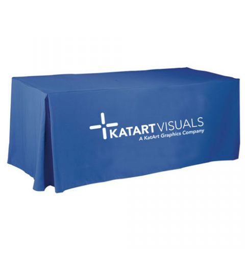 6 Foot Economy Thermal Transfer Tablecloth
