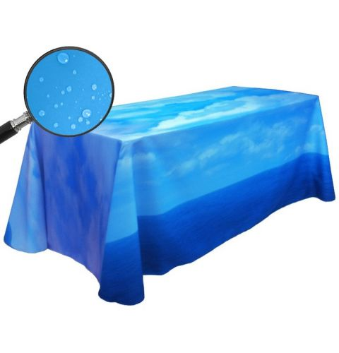 Fully Dye Sublimated 4' Water Resistant Throw