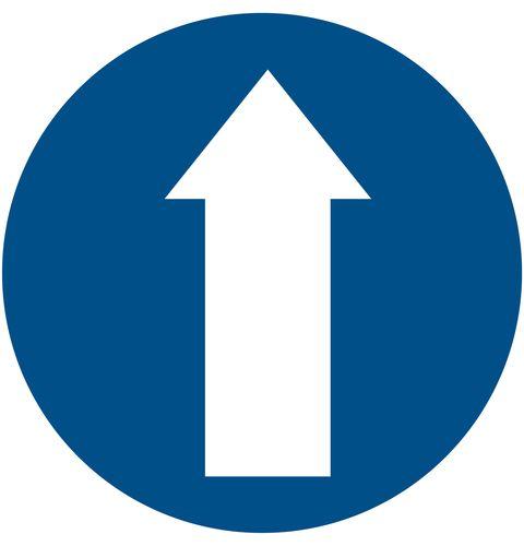 Large Directional Arrow