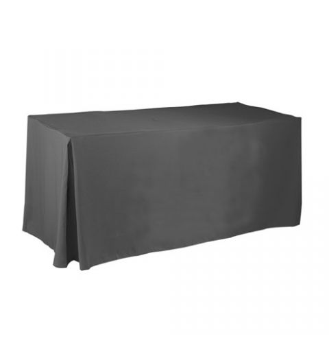 4' fitted Non printed tablecloth