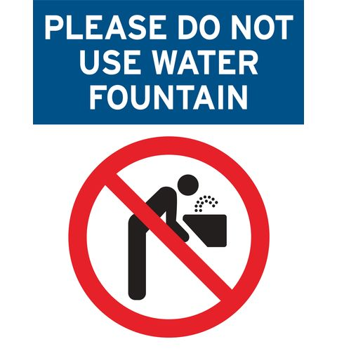 Water Fountain Closed