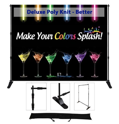 72x96 adjustable display - Deluxe