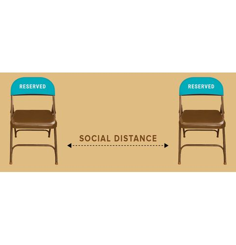Social Distancing chair covers